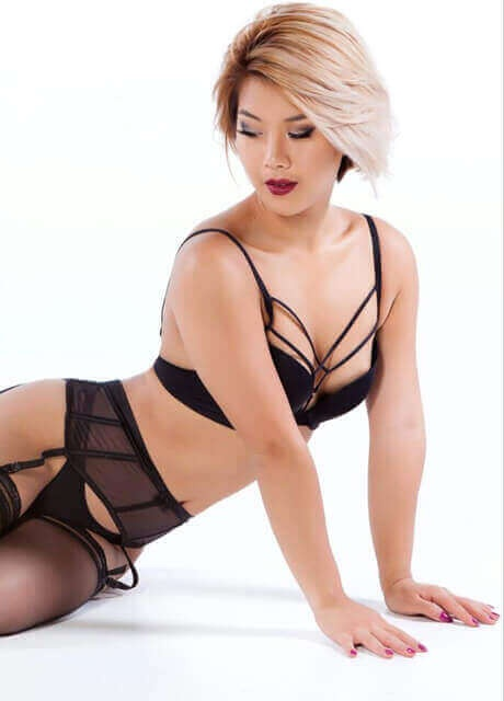 asian stockings waitress