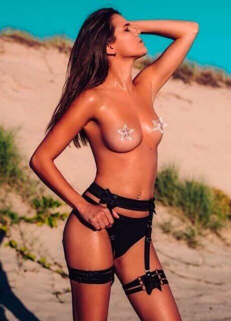 angel topless waitress